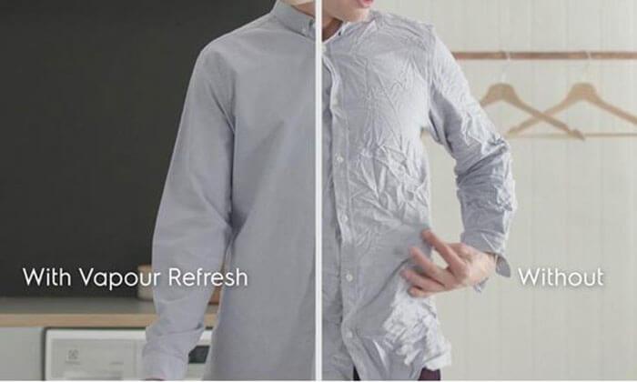 Thân thiện giữ quần áo phẳng phiu Electrolux