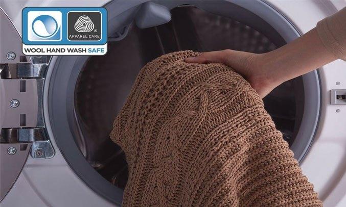 Chế độ giặt đồ len Electrolux