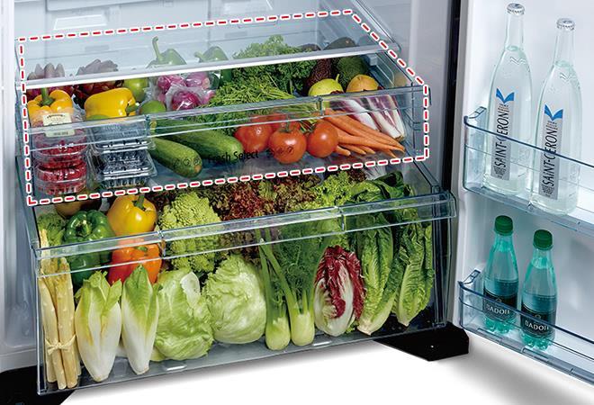 bảo vệ độ ẩm ngăn rau quả