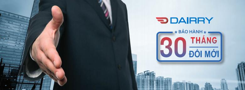 Bảo hành Dairry DR24-KC 30 tháng đổi mới