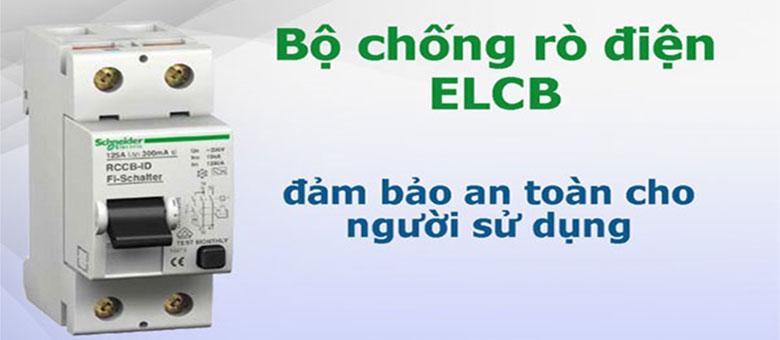 chống rò điện ELCB