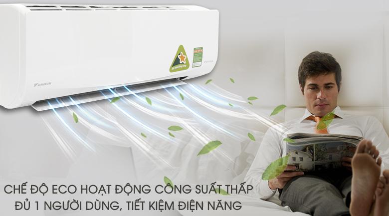 Công nghệ Eco điều hòa Daikin FTKA35VAVMV tiết kiệm điện
