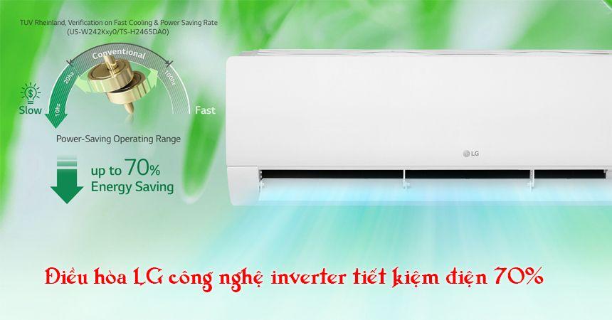 Điều hòa LG V10APFUV công nghệ inverter