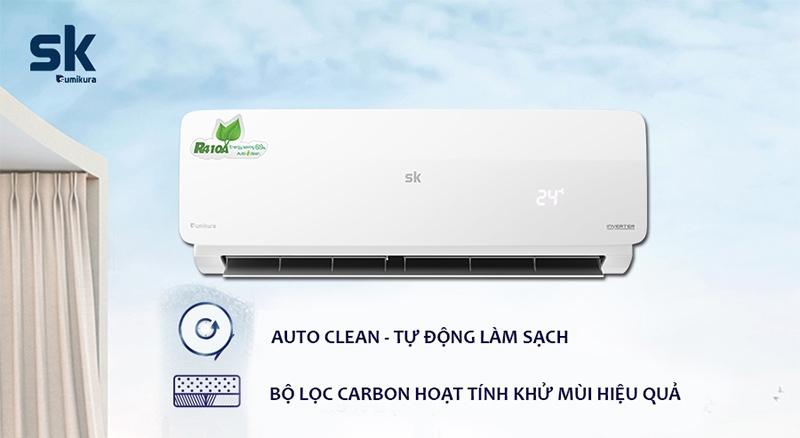 Sumikura APS/APO-120DC chế độ auto clean