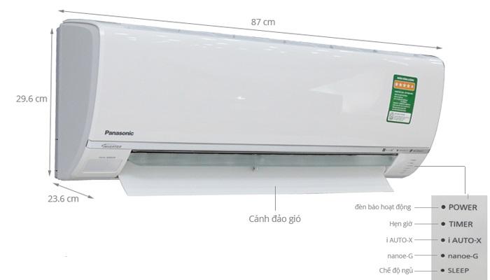 Điều hòa Panasonic XPU18WKH-8