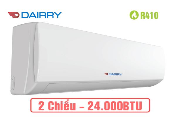 Điều hòa 2 chiều 24000 Dairry DR24-KH