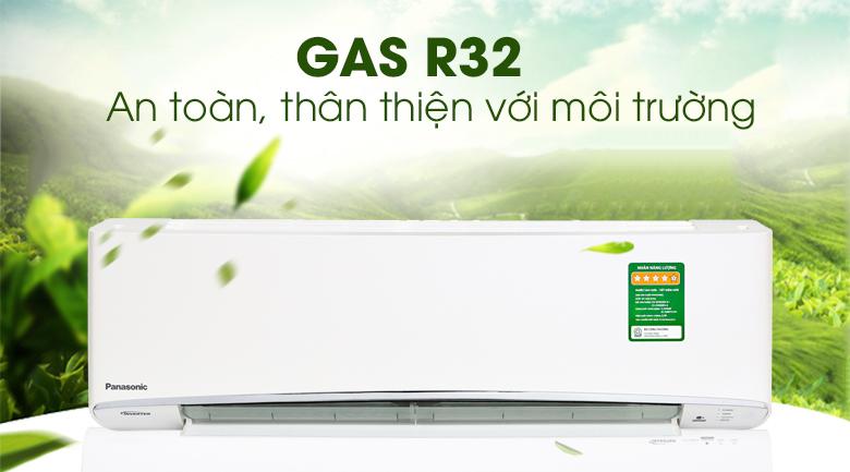 Điều hòa Panasonic XPU12XKH-8 sử dụng Gas R32