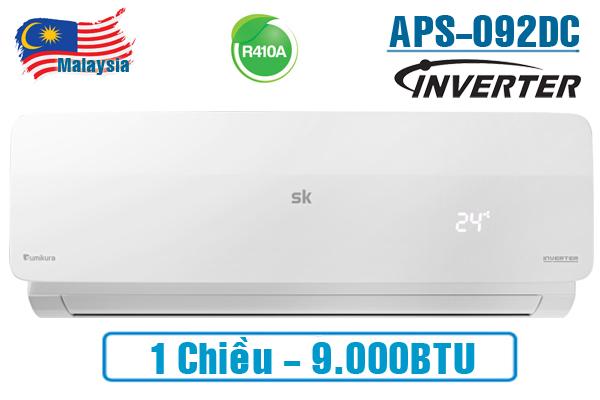 Sumikura APS/APO-092DC 9.000BTU 1 chiều inverter