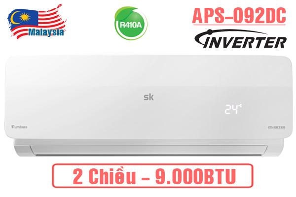 Máy lạnh Sumikura APS/APO-H092DC 9000BTU 2 chiều inverter