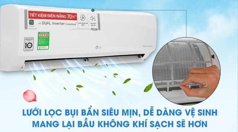 Máy lạnh điều hòa LG B10END chống ẩm mốc