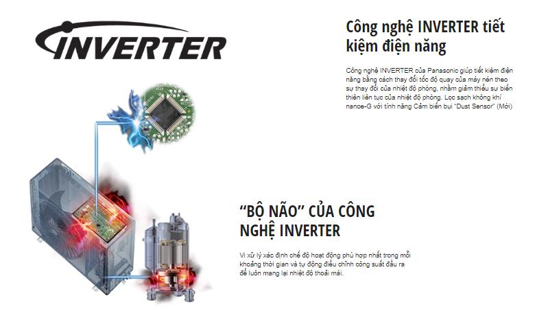 công nghệ inverter YZ12WKH-8
