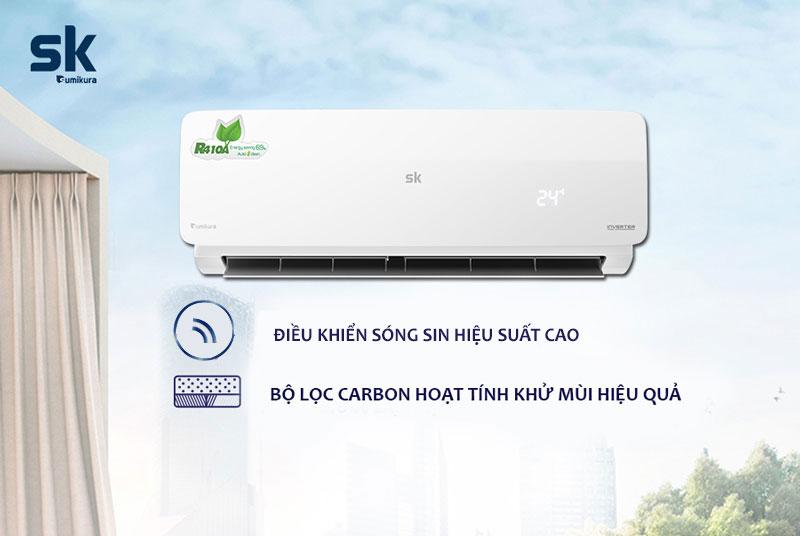 APS/APO-H240DC, bộ lọc Carbon