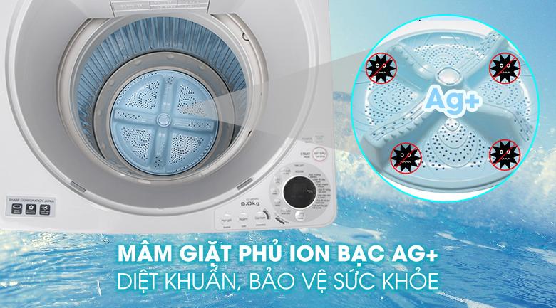Mâm giặt phủ bạc