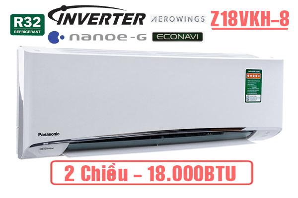 Điều hòa Panasonic Z18VKH-8 18000BTU 2 chiều inverter